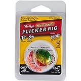 Berkley Walleye Colorado 4 Monofilament Flicker Rig, Hook Size: Front/Back 2/4