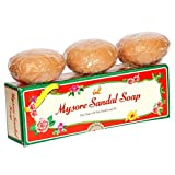 Mysore Sandalwood Soap 150g Double Size (Pack of 6)