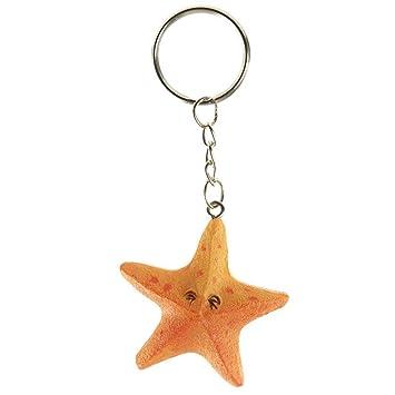 Llavero Resina en forma de Estrella De Mar: Amazon.es ...