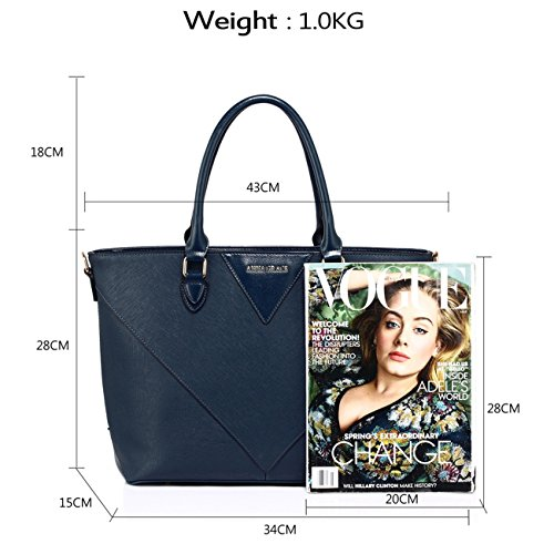 femmes d' Grand LeahWard fourre Sacs Designer tout sac pour vxwaq6Tw