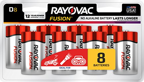 RAYOVAC Advanced Alkaline Batteries 813 8LTFUSJ