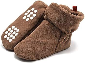 Aablexema Unisex Baby Cozy Fleece Booties