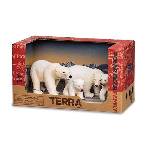 Battat Terra AN2731Z Polar Bear Family Playset