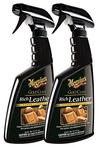 Meguiar's Gold Class Rich Leather Cleaner and Conditioner AfMGl, 2Units (Spray)