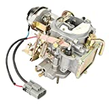ALAVENTE Carter Carburetor for Nissan 720 pickup 2.4L Z24 engine 1983 1984 1985 1986 Pathfinder and 1994 1995 1996 1997 1998 1999 2000 2001 2002 2003 2004 Pickup (OE:16010-21G61)