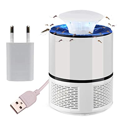 USB Electric Insect Zapper Mosquito Fly Bug Killer LED Trap Lamp Pest
