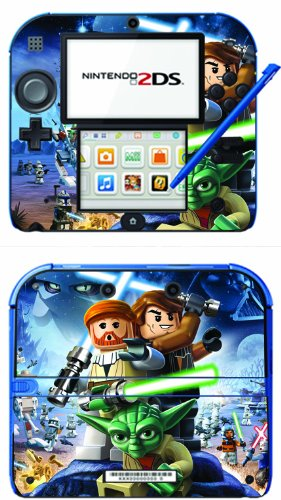 Lego Star Wars 3 III The Clone Wars Game Skin for Nintendo 2DS Console by Skinhub