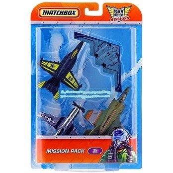Matchbox Sky Busters:Boeing F/A-18 Super Hornet,Northrop Grumman B-2, Lockheed Martin F-35B Stovl and Stunt Devil.