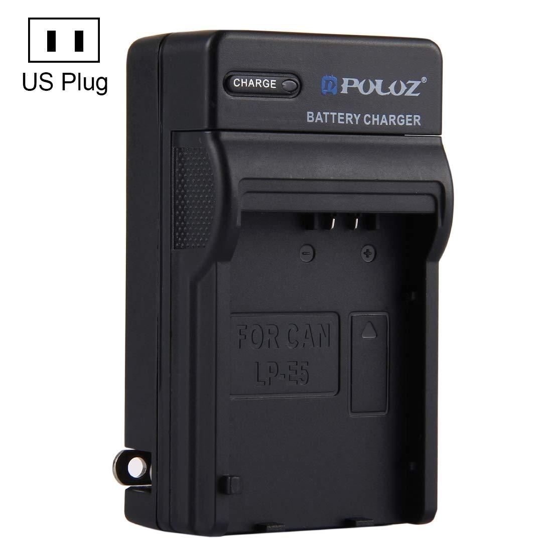 Cargadores de Camara PULUZ US Plug Cargador de batería para ...