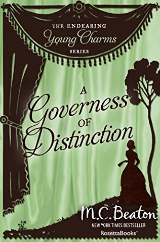 book cover of A Governess of Distinction