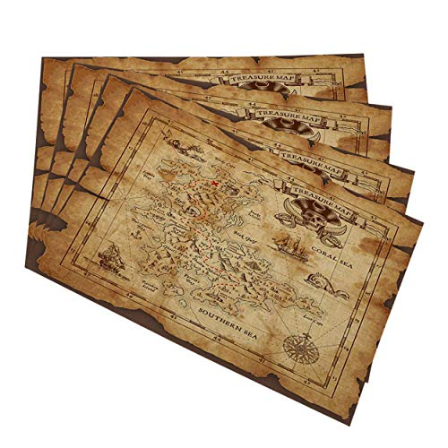 treasure map place mats buyer's guide for 2020