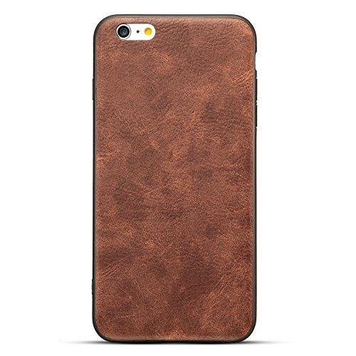 Fits Apple Iphone (HONTECH iPhone 6 iPhone 6s Case, Vintage PU Leather Ultra Slim Protector Cover For Apple iPhone 6 6s (iPhone 6, Coffee))