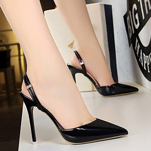 11 DS86 Noir Escarpins Femme pour Miyoopark MiyooparkUK 5 36 Noir 5EqnxAP0