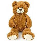 Large Ultra Soft and Cozy Plush Teddy Bear, 3 Feet - Beige