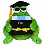 Precious Moments 2013 Plush Graduation Frog with Gift Card Holder image