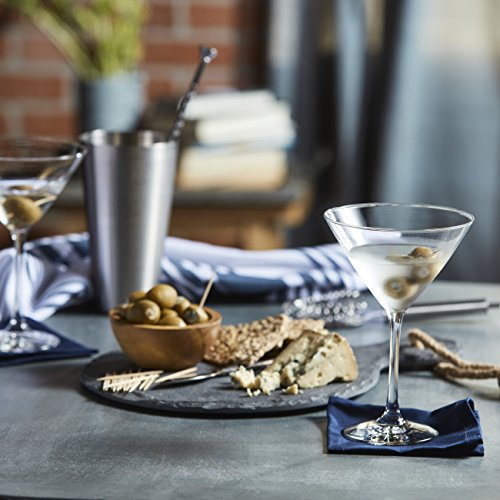 Libbey Vina Martini Glass Set, 6-12 ounce Martini Glasses, 7.38 inch height, Lead-Free by Libbey (Image #2)