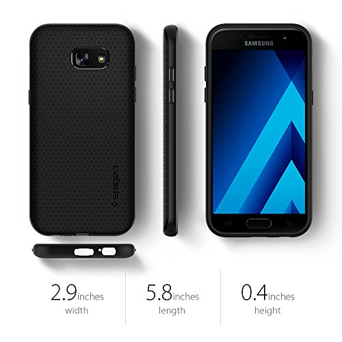 best service cc29c 1ef99 Galaxy A5 Case 2017, Galaxy A5 2017 Case, Spigen Liquid Air Armor - Durable  Flex and Easy Grip Design for Samsung Galaxy A5 (2017) - Black
