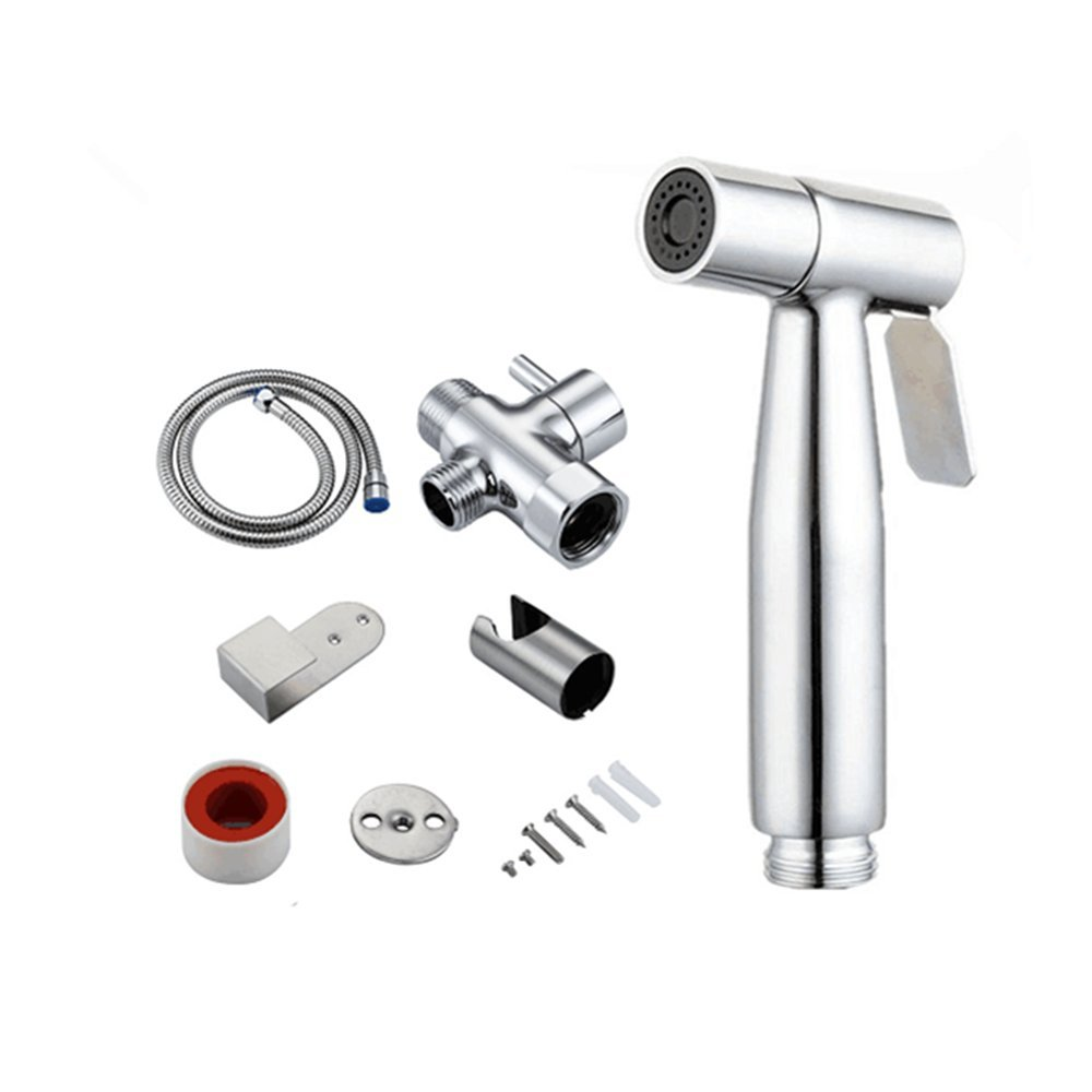 SUKONG Premium Stainless Handheld Sprayer & It's Used for Potty Toilet Spray & Shower Attachment to Ensure Perfect Cleaner and Your Personal Hygiene (501) by SUKONG