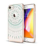 ESR iPhone 8 Case Floral Totem Clear Case