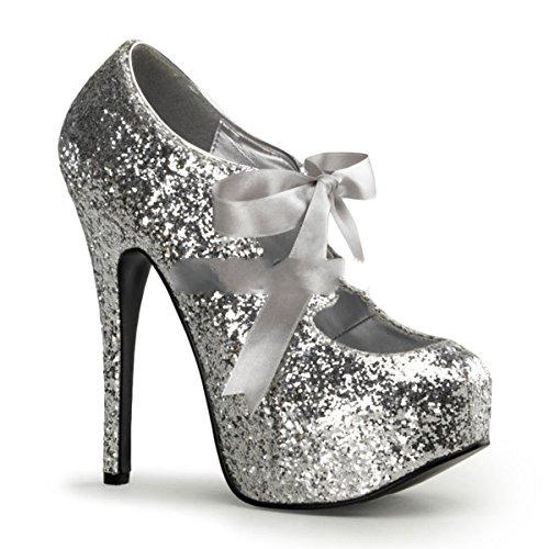 Bordello - Zapatos de vestir para mujer Silber