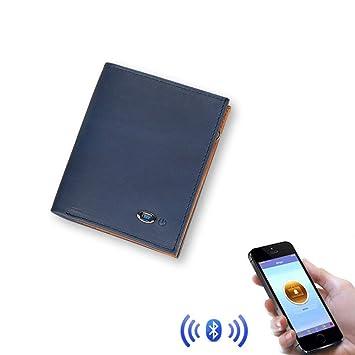 WEII Monederos, Bluetooth Monedero Antirrobo Inteligente ...
