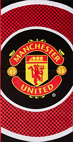 Manchester United Bullseye Beach Towel by Manchester United F.C.