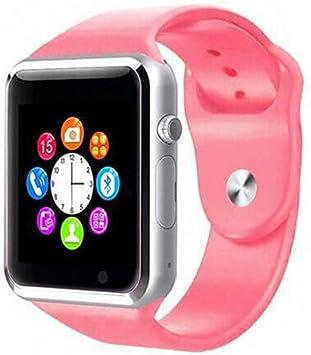 JingJingQi Reloj Inteligente 2019 Nuevo Smart Watch Clock Sync ...