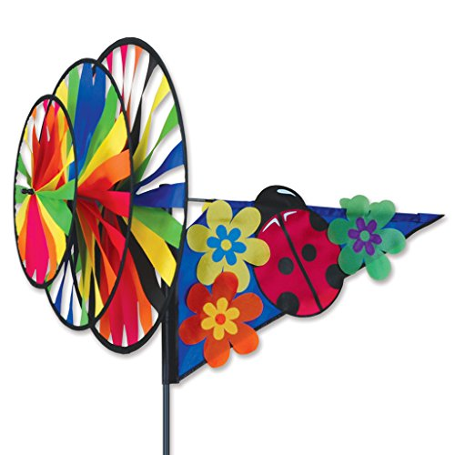 Premier Kites Triple Spinner - Pink Ladybug