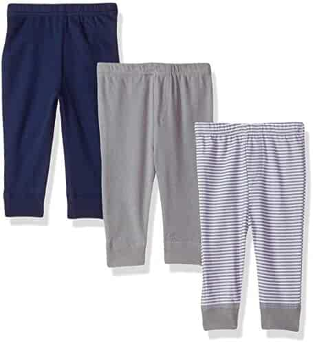 Luvable Friends Baby Girls' Tapered Ankle Pants