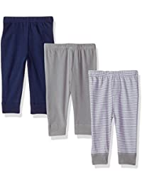 Baby Girls' Cotton Tapered Ankle Pants