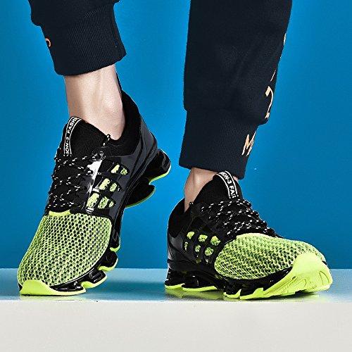 40 2 Sneakers Dämpfung Herren grün Laufschuhe PORTANT 48 I6YOwW