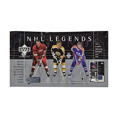 - 2000-01 Upper Deck Legends Hockey Hobby Box