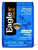Eagle Pack Natural Pet Food, Original Adult Pork Meal and Chicken Meal Small Bites Formula for Dogs, 15-Pound Bag, My Pet Supplies