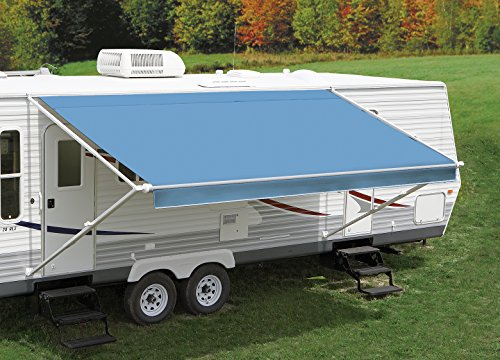 Solid Light Blue Replacement Canopy/Fabric for a 16' Awning