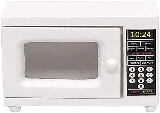 FiedFikt Mini Horno microondas de Cocina 1:12 casa de muñecas ...