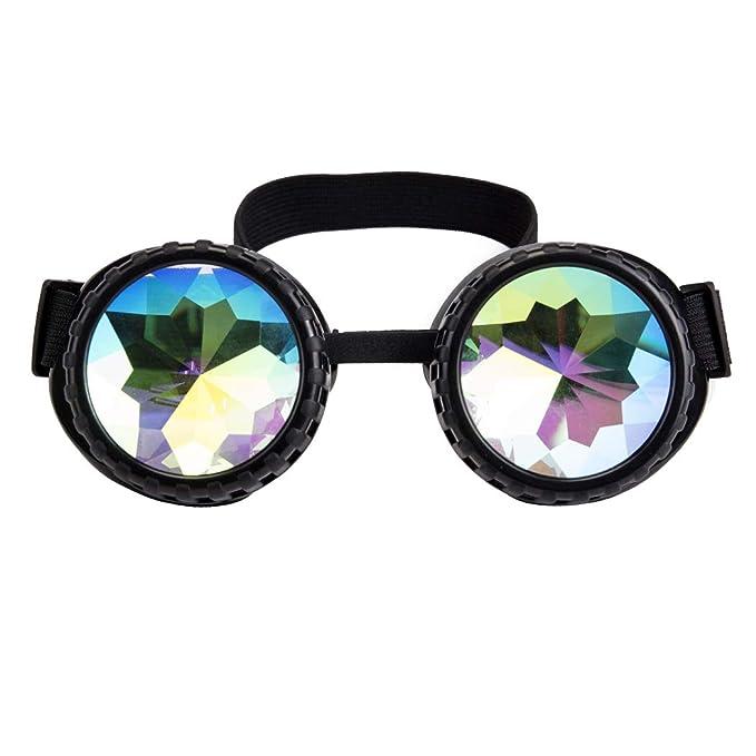 Amazon.com: Gafas de sol de fiesta vintage con linterna LED ...