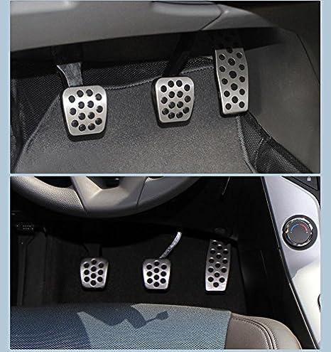 zytho (TM) automóviles MT/en acero inoxidable manual del acelerador freno Pedal de embrague para Cruze sedán Hatchback Auto, MT: Amazon.es: Deportes y aire ...