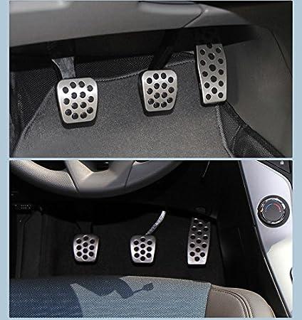 zytho (TM) automóviles MT/en acero inoxidable manual del acelerador freno Pedal de