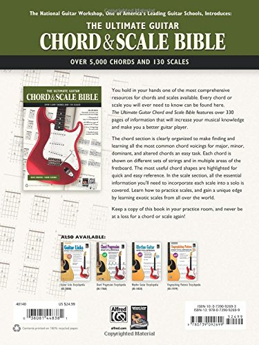 The Ultimate Guitar Chord & Scale Bible: 130 Useful Chords and ...