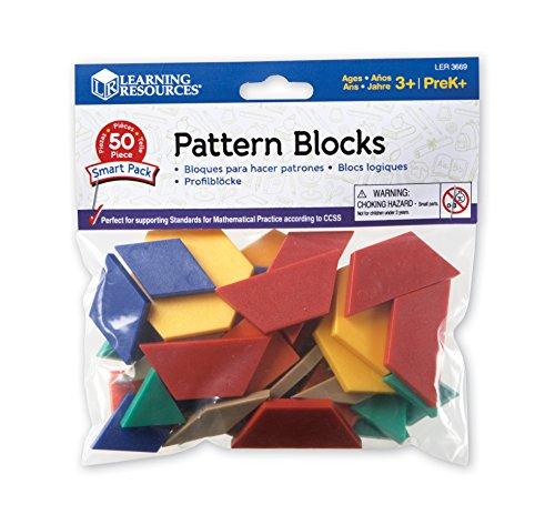 Smart Bag Pattern (Learning Resources Pattern Blocks Smart Pack)