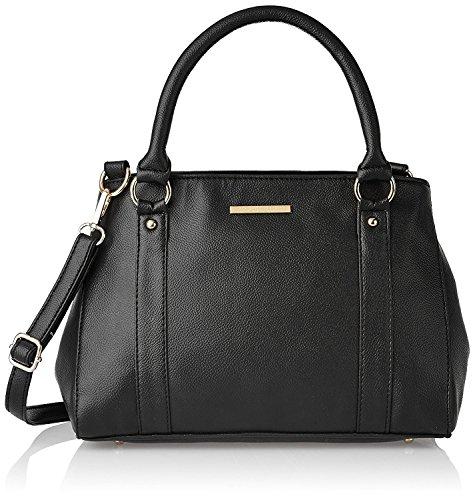 Lapis O Lupo Blanche Damen Handtasche Schwarz Multifunktionstasche Design