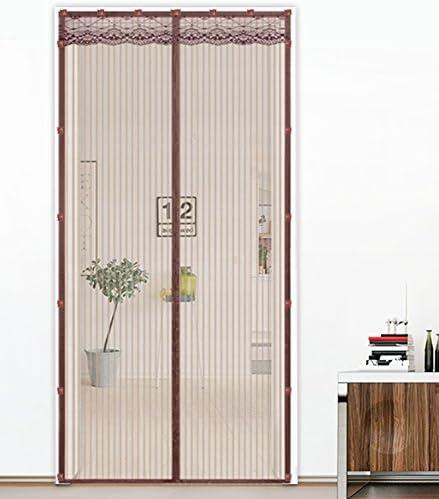 Liveinu Cortina Mosquitera Magnética Para Puerta Ventana Con Clip Adhesivo,Mosquitera Para Puerta Protección Contra Insectos Magnético Mosquitera Puerta Gris 70x210cm: Amazon.es: Bricolaje y herramientas