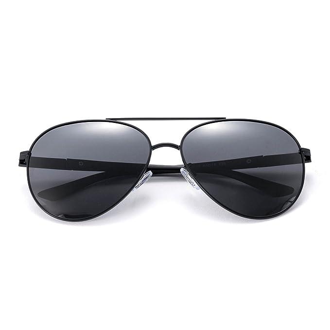 75450ca3aca MT MIT Classic Aviator Sunglasses Polarized for Men Women - UV 400 Gray