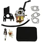 HIPA Carburetor + Air Filter Tune Up Kit for Honda EB2200X EB2500X EM1600X EM1800X EM1800XK1 EM2200X EM2500X Generator