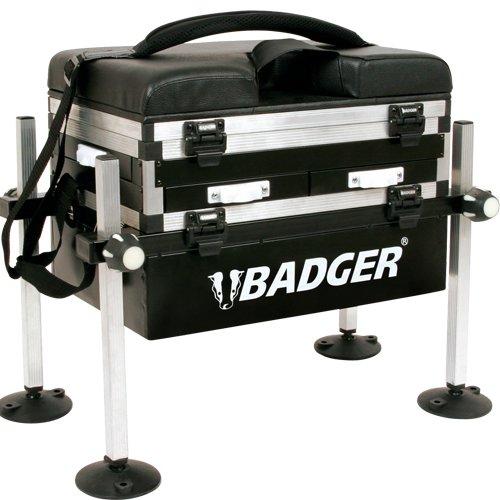 BADGER 3 DRAWER FISHING SEAT BOX: Amazon co uk: Sports