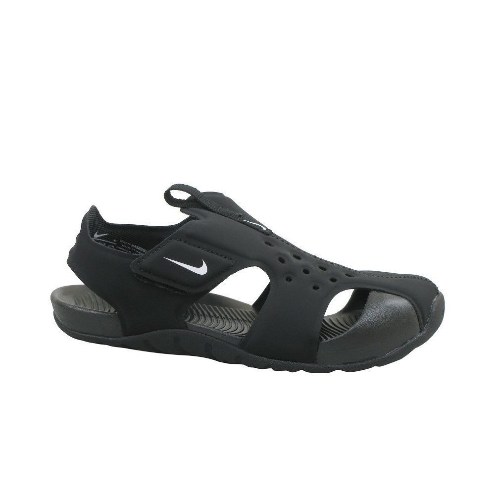 Nike Kids Sunray Protect 2 (PS) Black White Size 3 by Nike (Image #1)