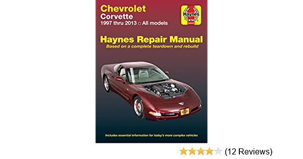 amazon com haynes manuals haynes repair manual for chevrolet rh amazon com 2000 corvette repair manual 2014 Corvette Convertible Colors