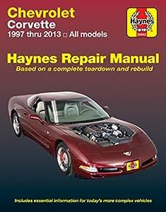 amazon com haynes manuals haynes repair manual for chevrolet rh amazon com 2000 corvette owners manual 2000 chevrolet corvette owners manual