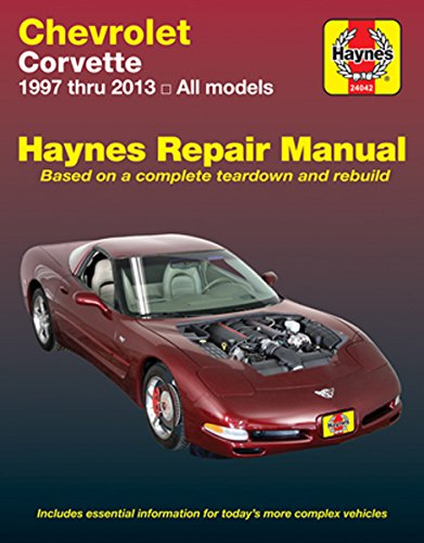 amazon com haynes manuals haynes repair manual for chevrolet rh amazon com 2001 Corvette 2013 Corvette Stingray