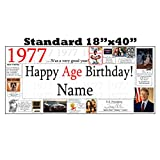1977 PERSONALIZED BANNER by Partypro